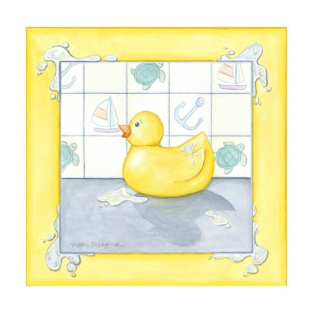 Small Rubber Duck II Print Wall Art - Rubber Duck Clip Art