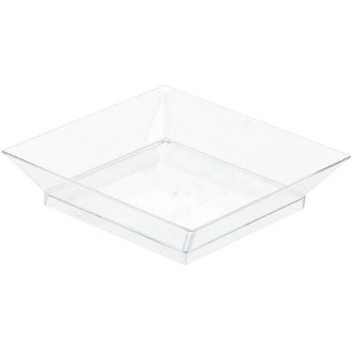 square appetizer plates pack of 10 - Horderves Plates