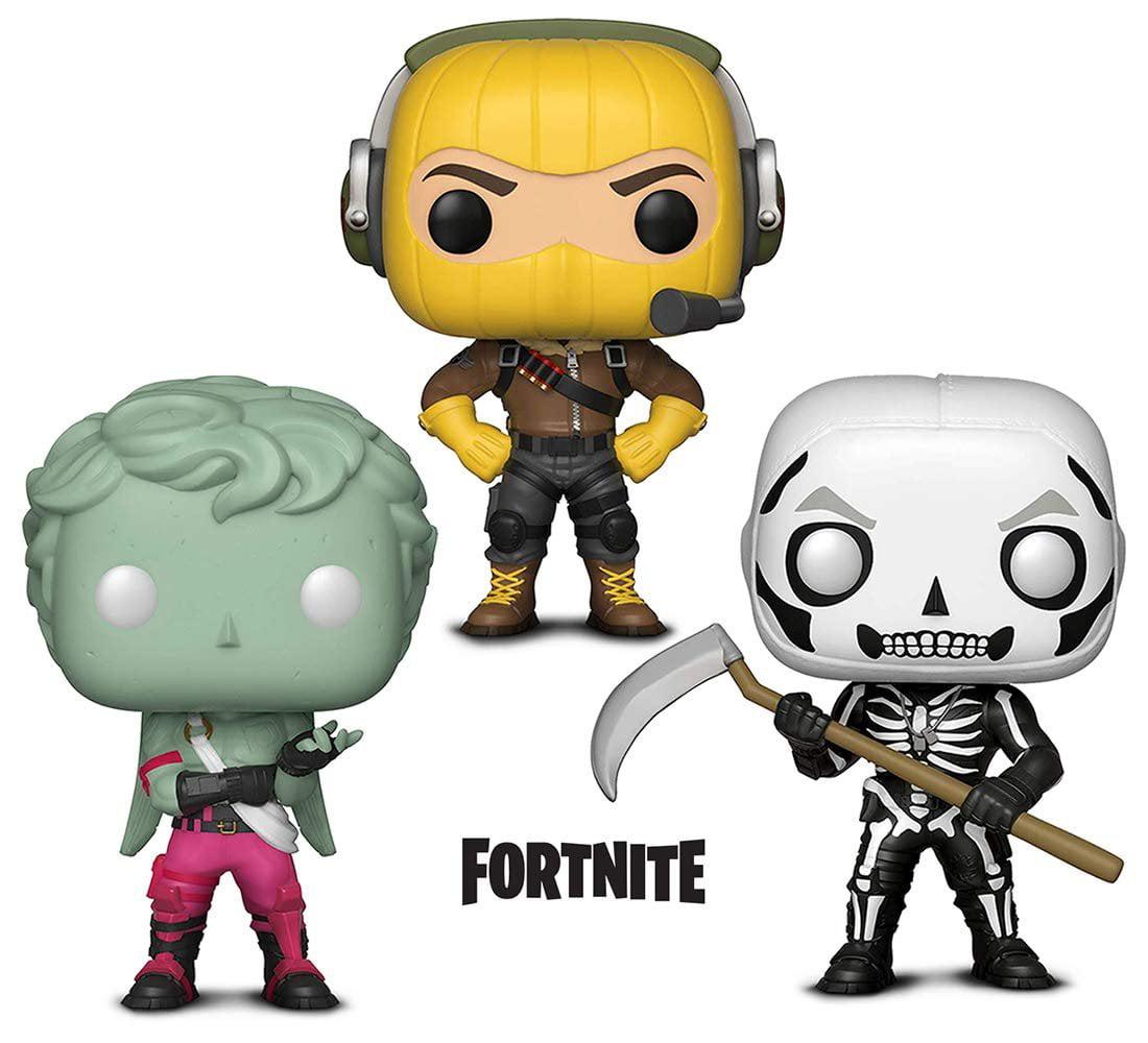 Warp Gadgets Bundle - Funko Pop GamesFortniteS1 - Raptor, Love Ranger and Skull Trooper (3 Items)