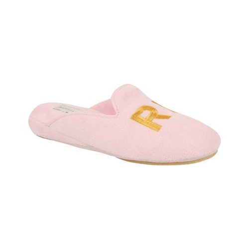 Relax Size 7 Pink Patricia Green Velour Slipper