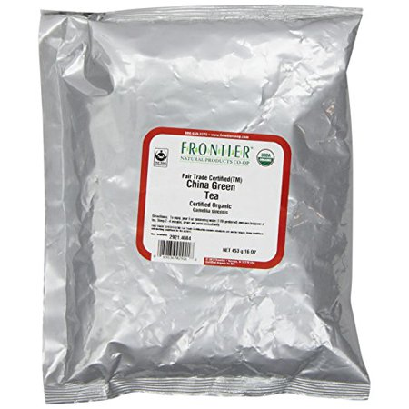 Frontier Herb Organic China Green Tea 1 LB (Pack of