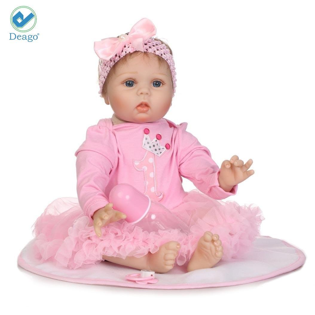 "16/"" Lifelike Reborn Doll Laughing Baby Boy Handmade Newborn Soft Cloth Body Xmas"
