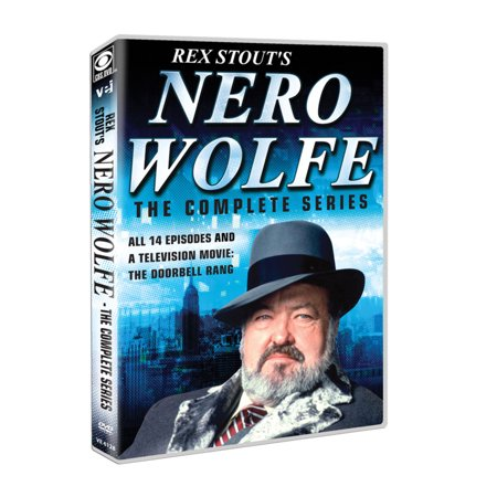 Nero Wolfe: The Complete Series - Starring William Conrad - DVD Boxed Set