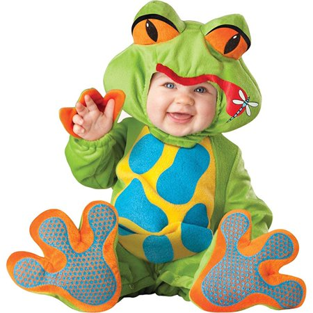 uhc baby's lil froggy frogs amphibian theme infant child halloween costume, 6-12m](Froggy's Halloween)