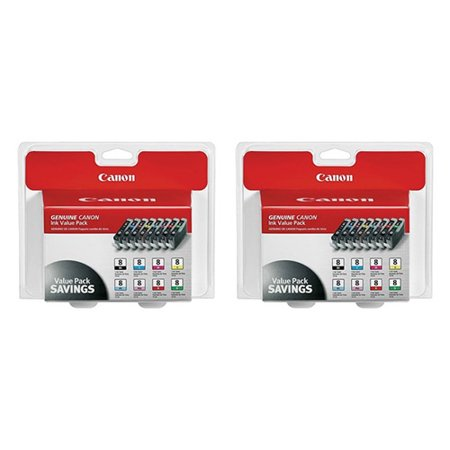 Canon CLI-8 8-Color Multipack Ink Cartridge (2-Pack) CLI-8 8 Color Multipack Ink Cartridge Canon Cli 8 Cartridges