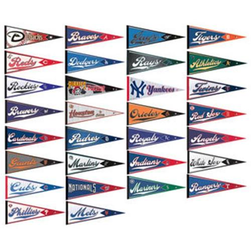 MLB Pennant Set - 30 Teams