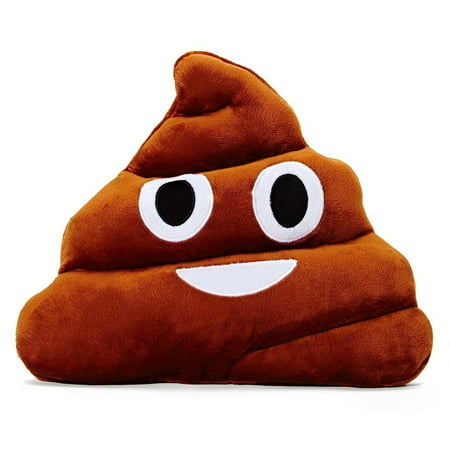 Emoticon Plush Pillow - Poop Emoji](Windy Emoji)