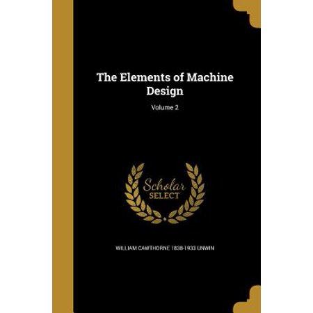 The Elements of Machine Design; Volume 2 (T Krishna Rao Design Of Machine Elements)