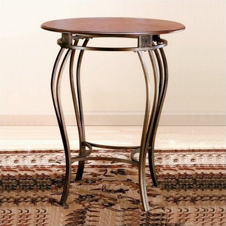 Hillsdale Montello Bistro Table, Old Steel