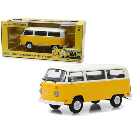 T2 Bus - 1978 Volkswagen Type 2 (T2) Bus Yellow with White Top