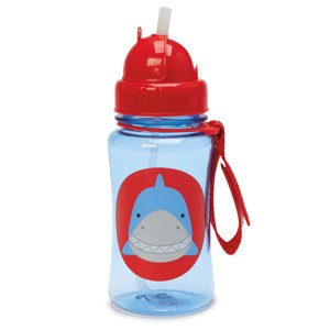Skip Hop Zoo Straw Bottle, Shark