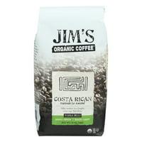 Jims Organic Coffee Jims Organic Coffee  Coffee, 12 oz