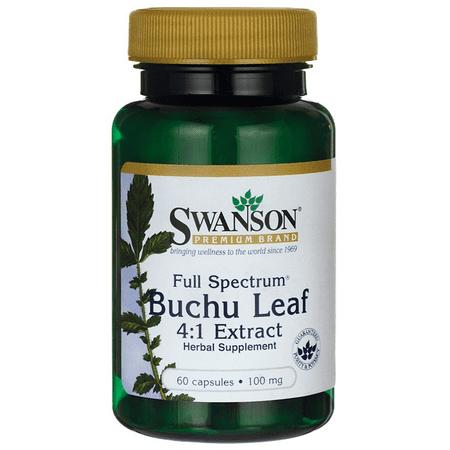 - Swanson Full Spectrum Buchu Leaf 4:1 Extract 100 mg 60 Caps
