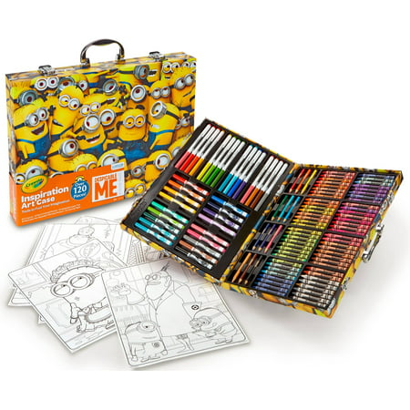 120 Piece Set (Crayola Despicable Me 120 Piece Inspiration Art Case)