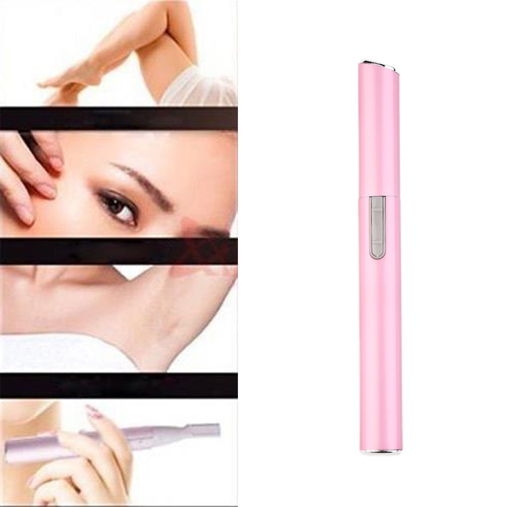 Electric Travel Ear Nose Neck Eyebrow Hair Body Blade Razor Trimmer Shaver