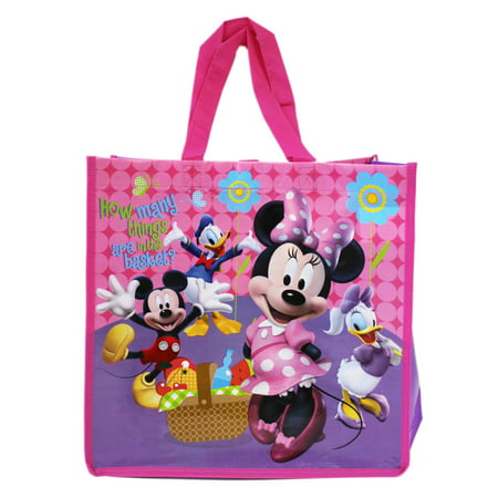 Disney's Minnie Mouse and Friends Picnic Time Reusable Grocery Tote](Minnie Mouse Tote Bag)