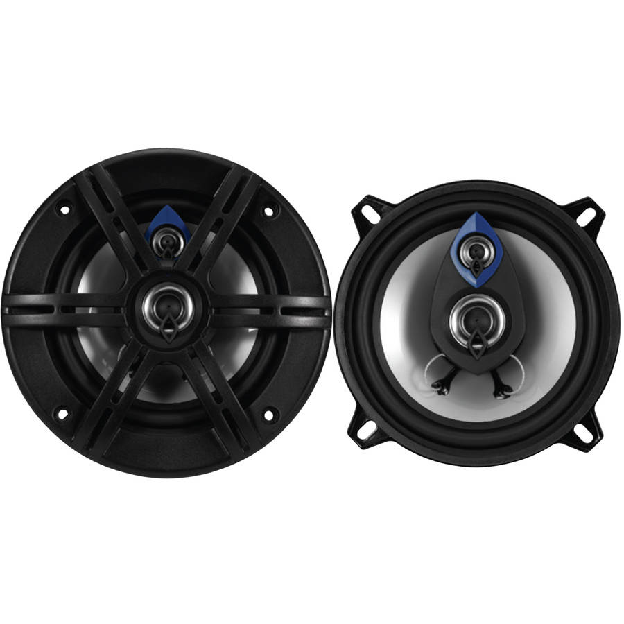 "Planet Audio PL53 Pulse 5.25"" 3-Way 200W Full-Range Speakers"