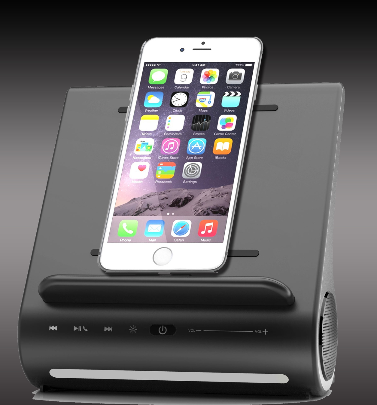 Azpen Dockall All-in-One Docking Station for Iphone Ipad Ipod