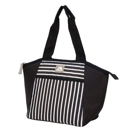 Igloo Lunch Bag Essential Tote Cooler Bag, Paneled Stripes - NEW
