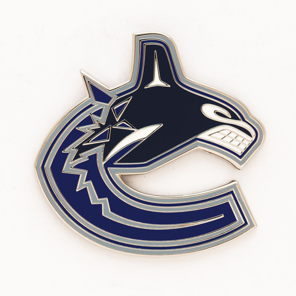 Vancouver Canucks Official NHL 1 inch  Lapel Pin by Wincraft