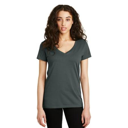 Alternative Legacy V-Neck T-Shirt Hole Adult T-shirt