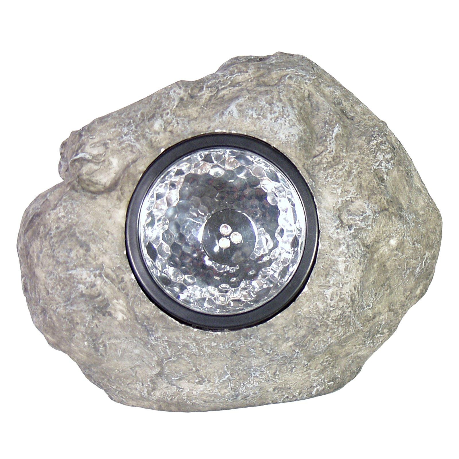 """Echo Valley 23352 5"""" Large Solar Rock Spotlight"""