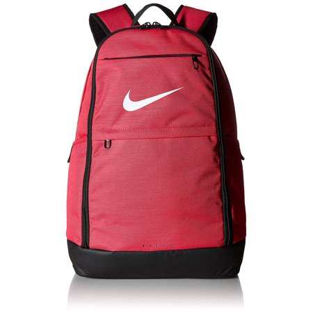 NIKE Brasilia Backpack, Rush Pink/Black/White, X-Large