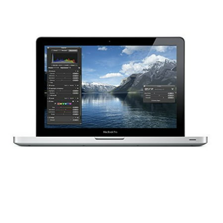Certified Refurbished - Apple MacBook Pro 13-Inch Laptop - 2.4Ghz Core 2 Duo / 4GB RAM / 250GB MC374LL/A (Grade