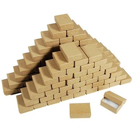100 Cotton Filled Boxes, 2 1/8