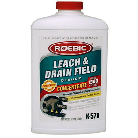 - Safe & Easy to Use Leach And Drain Field Opener Concentrate for Septic - 32oz