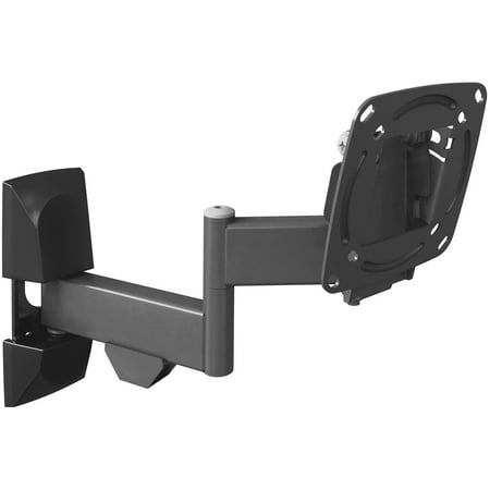 """Barkan 13""""- 29"""" Full Motion - 4 Movements, Flat / Curved TV/ Monitor Wall Mount, Black, Up to 33 lbs, UL Listed, Lifetime Warranty."""