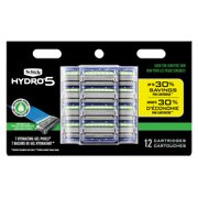 Schick Hydro 5 Sense Sensitive Men's Razor Blade Refills, 4 Ct