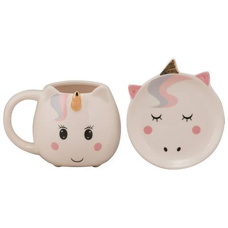 Ten Strawberry Street Unicorn Mug Trinket Gift Set Walmartcom
