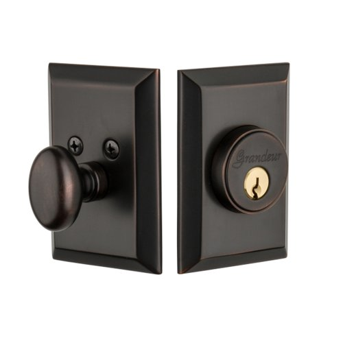Grandeur Fifth Avenue Single Cylinder Deadbolt