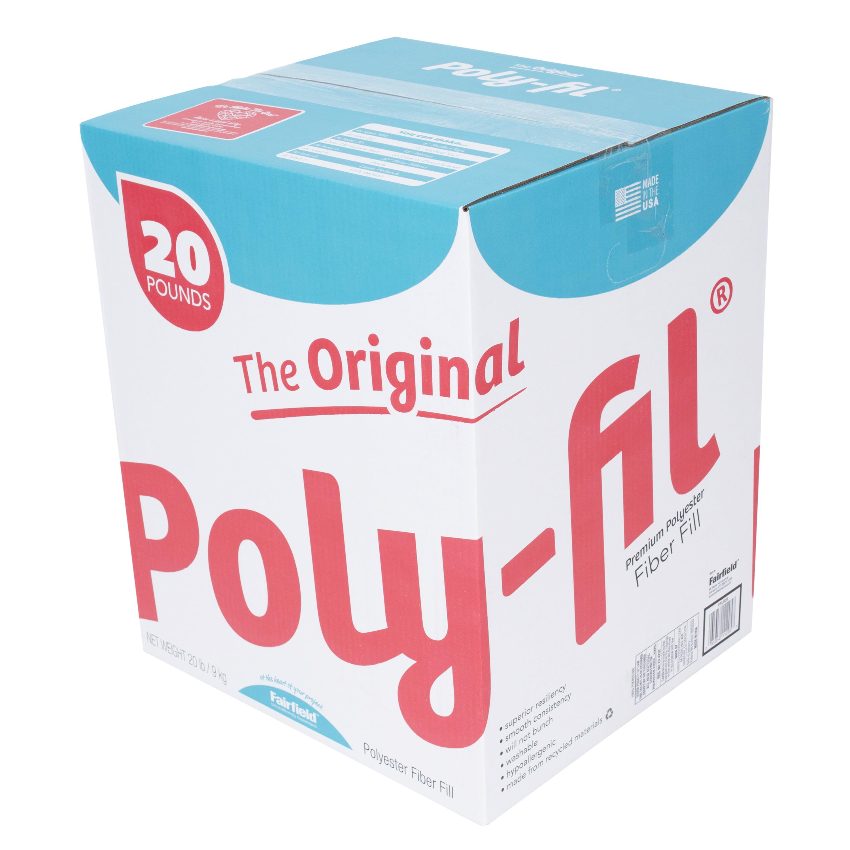 White Pack 1 Fairfield The Original Poly-Fil Premium Box 20 lb