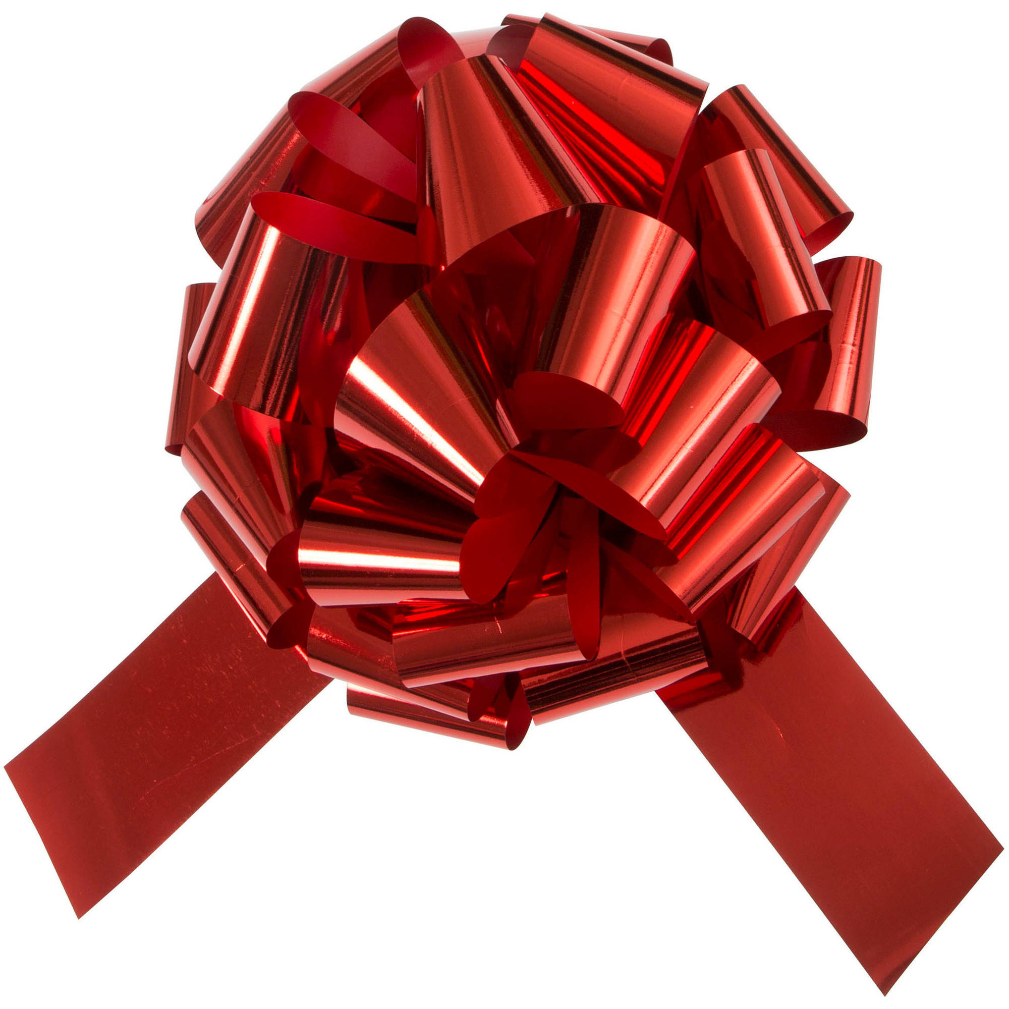 Giant Car Bow, 18 in, Red, 1ct