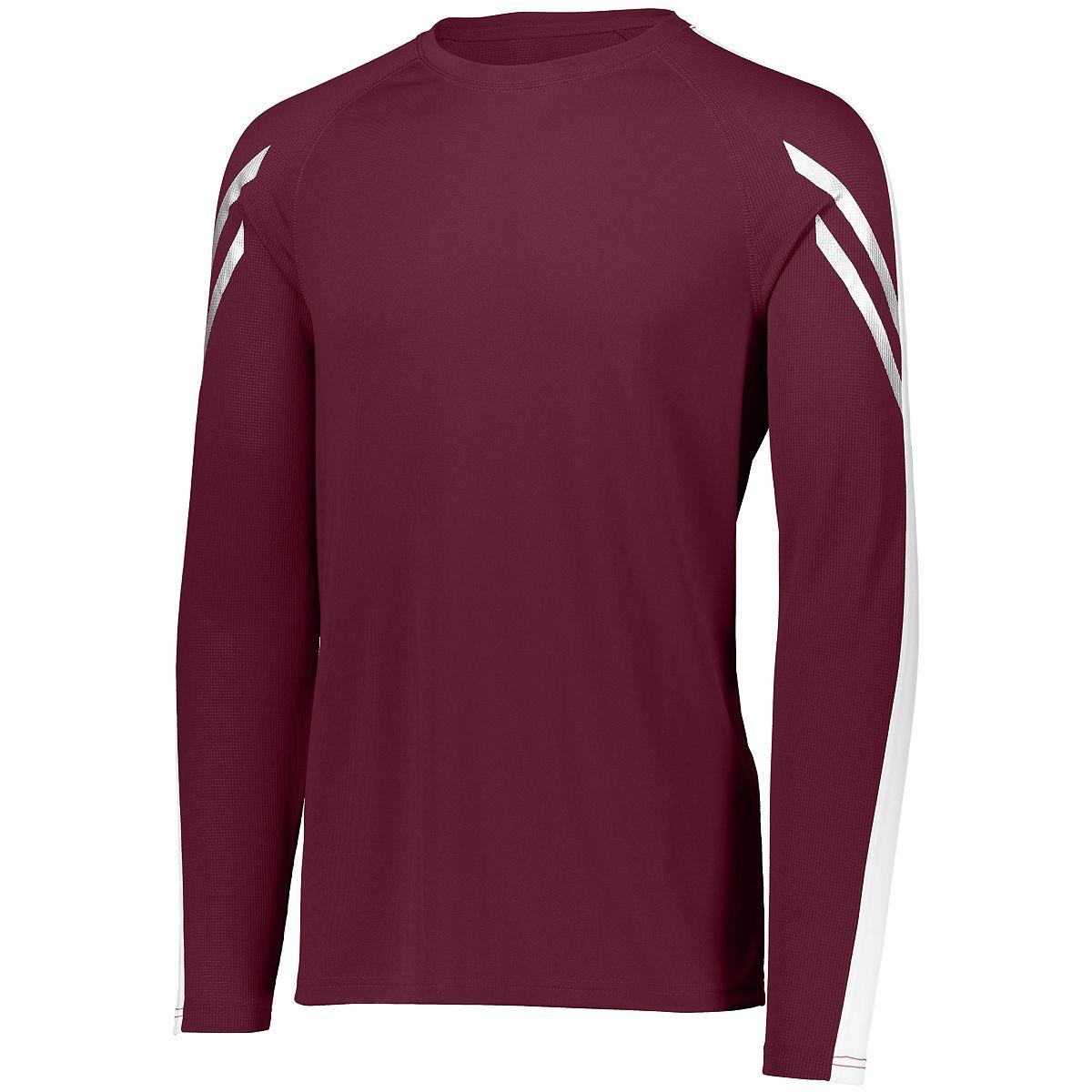 Holloway Flux Shirt L/S Mar/Whi S - image 1 de 1