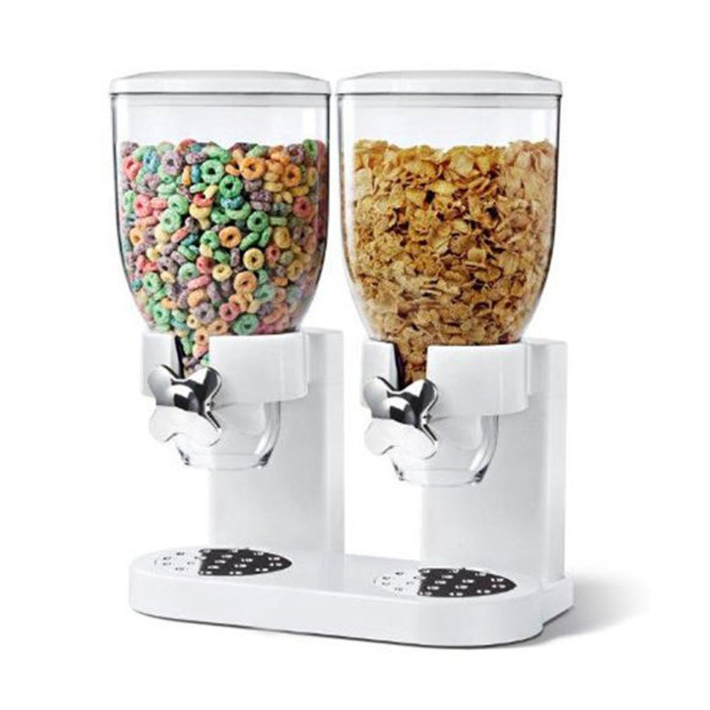 Multifunctional Pasta Cereal Dry Food Dispenser Storage Container Dispense Household Kitchen Machine for Gift  sc 1 st  Walmart & Cereal Storage Container Aboutintivar.Com