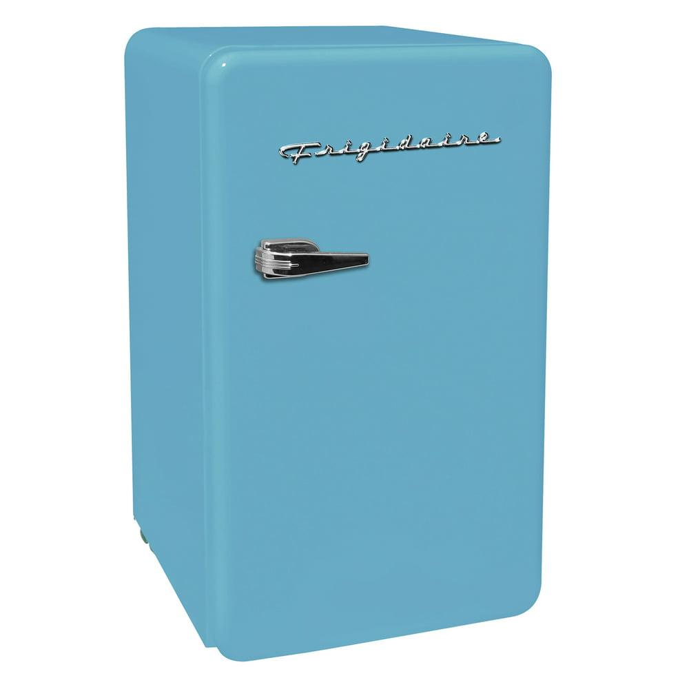 Frigidaire 3.2 Cu. ft. Single Door Retro Compact Refrigerator EFR372, Blue