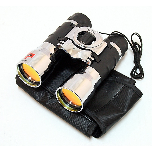 Defender  16x42 Ruby Coated Lens Binocular and Case