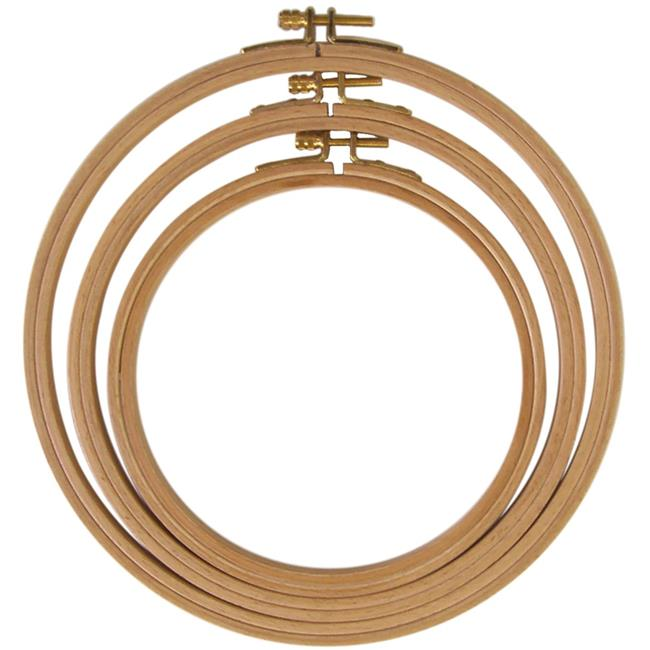 Frank A. German Hand Or Machine Embroidery Hoop, 8 in.