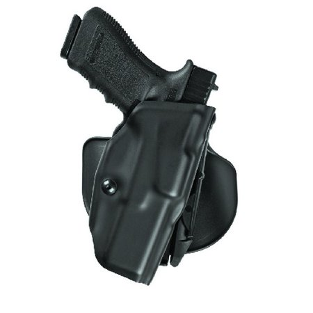 SAFARILAND ALS Concealment Paddle Holster Finish: STX Plain Gun Fit: Glock 19 with LasTac2 (4  bbl) Hand: