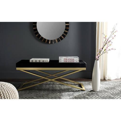 Safavieh Arca Bicast Leather Bench, Multiple Colors