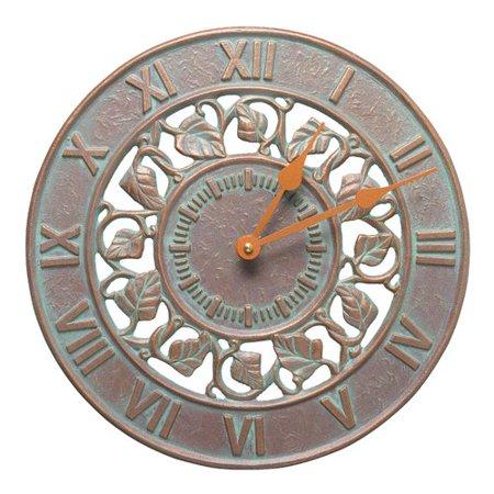 Fleur De Lis Living Bridgham Silhouette 12 Wall Clock