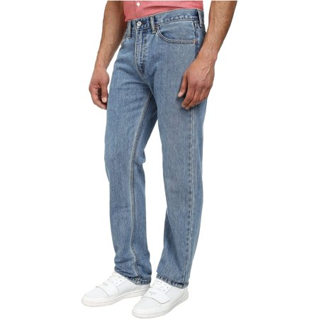 Levi's Mens Cotton Regular Fit Jeans lightstonewash 42x32 - image 2 of 2