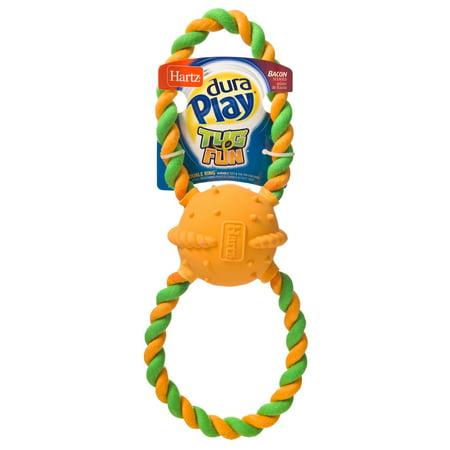 Hartz Duraplay Tug Fun Double Ring Dog Toy ()