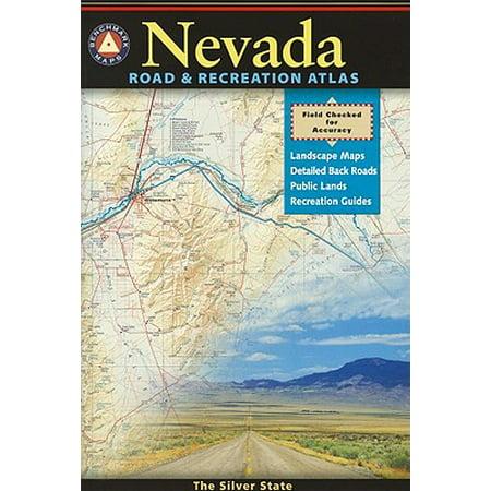 Benchmark map: nevada road & recreation atlas: nevada benchmark road & recreation atlas (paperback): 9780929591926 ()