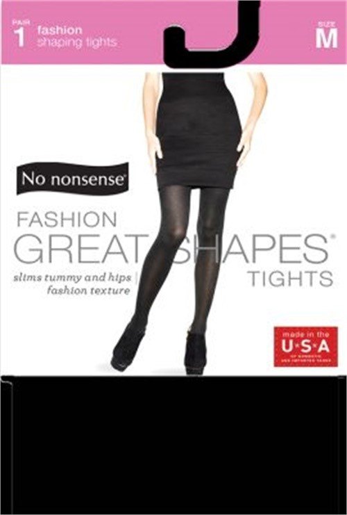 Nn Great Shape Tights Blk Size 1pr Nn Great Shape Tights Medium Black 1pr, PartN