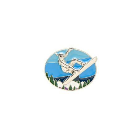 Finders Key Purse Snowboard Girl Keyring (Pack Snowboard Bag)