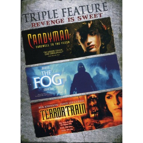 Revenge Is Sweet Triple Feature: Candyman 2 - Farewell To The Flesh / The Fog / Terror Train (Widescreen)